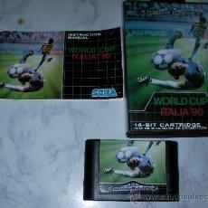 Videojuegos y Consolas: ANTIGUO JUEGO MEGADRIVE WORLD CUP ITALIA 90. Lote 24094584