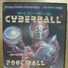 Videojuegos y Consolas: VIDEO JUEGO SEGA MEGADRIVE - JAPAN - CYBERBALL ¡¡¡ COMPLETO Y COMO NUEVO ¡¡¡. Lote 26166700