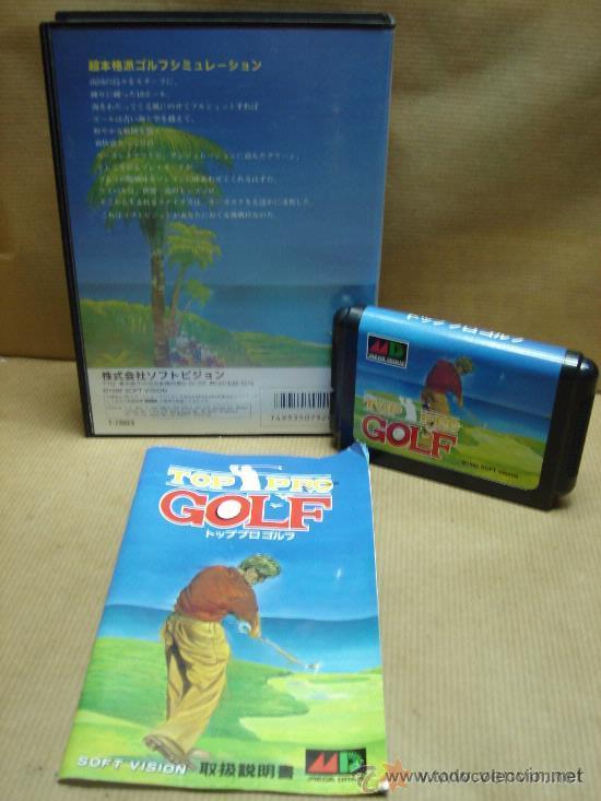 Videojuegos y Consolas: VIDEO JUEGO SEGA MEGADRIVE - JAPAN - TOP PRO GOLF ¡¡¡ COMPLETO Y COMO NUEVO ¡¡¡ - Foto 2 - 26166701