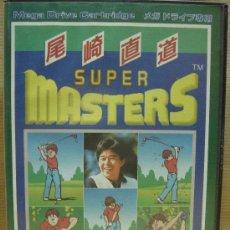 Videojuegos y Consolas: VIDEO JUEGO SEGA MEGADRIVE - JAPAN - SUPER MASTERS GOLF ¡¡¡ COMPLETO Y COMO NUEVO ¡¡¡. Lote 25542517