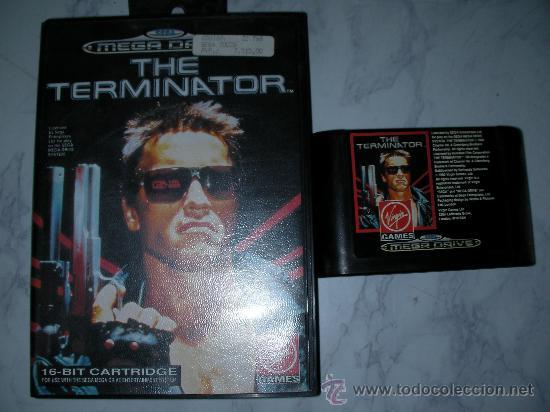 ANTIGUO JUEGO SEGA MEGADRIVE THE TERMINATOR (Juguetes - Videojuegos y Consolas - Sega - MegaDrive)