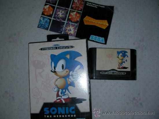 ANTIGUO JUEGO SONIC HEDGEHOG (Juguetes - Videojuegos y Consolas - Sega - MegaDrive)