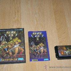 Videojuegos y Consolas: GOLDEN AXE II COMPLETO SEGA MEGADRIVE. Lote 27395800