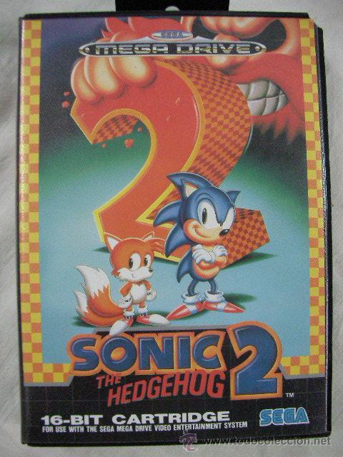 ANTIGUO JUEGO SEGA MEGADRIVE SONIC 2 THE HEDGEHOG (Juguetes - Videojuegos y Consolas - Sega - MegaDrive)