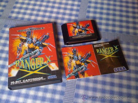 ranger x para sega megadrive pal completo md sold through direct sale 28240359 comics and tebeos