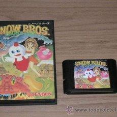 Videojuegos y Consolas: SNOW BROS JUEGO CLONICO SEGA MEGADRIVE MEGA DRIVE. Lote 28665949