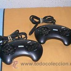Videojuegos y Consolas: 2 MANDOS CONTROL PAD SEGA MEGADRIVE OFICIALES SEGA MEGA DRIVE. Lote 151890561