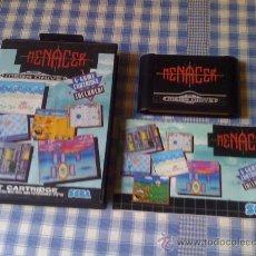 Videojuegos y Consolas: 6-GAME CARTRIDGE MENACER (VARIOS JUEGOS) JUEGO PARA SEGA MEGADRIVE MD PAL PARA LA PISTOLA. Lote 28875261