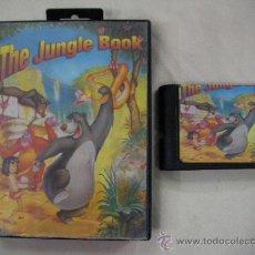 Videojuegos y Consolas: ANTIGUO JUEGO MEGADRIVE EL LIBRO DE LA SELVA. Lote 29452463