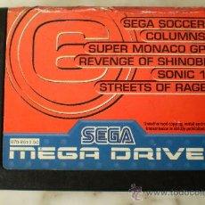 Videojuegos y Consolas: SEGA MEGA DRIVE JUEGO. Lote 29609212
