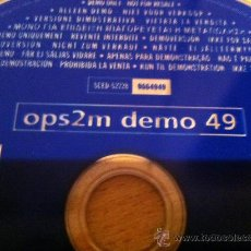 Videojuegos y Consolas: JUEGO PLAYSTATION OPS2M DEMO 49 - PLAYSTATION GAME OPS2M DEMO 49. Lote 31300369