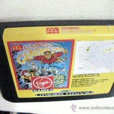 Videojuegos y Consolas: ANTIGUO JUEGO MEGA DRIVE GLOBAL GLADIATORS DE MCDONALDS. Lote 45252104