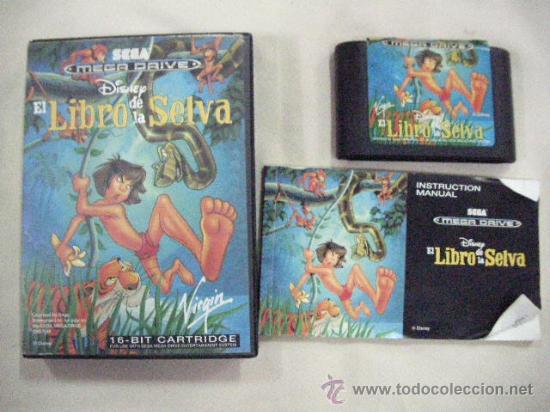 ANTIGUO JUEGO MEGA DRIVE EL LIBRO DE LA SELVA (Juguetes - Videojuegos y Consolas - Sega - MegaDrive)