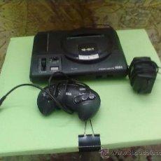 Videojuegos y Consolas: ANTIGUA CONSOLA SEGA MEGA DRIVE DE SEGA 16 BIT,CON TRAFORMADOR Y MANDO. Lote 31203497