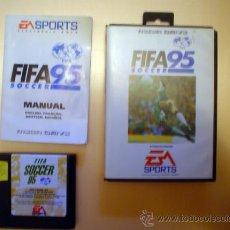 Videojuegos y Consolas: JUEGO SEGA MEGADRIVE.FIFA 95 SOCCER.CAJA ORIGINAL Y MANUAL EN ESPAÑOL.. Lote 53979042