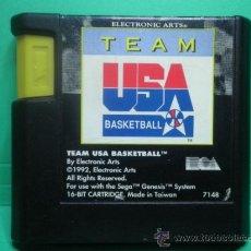 Videojuegos y Consolas: MEGADRIVE MEGA DRIVE GENESIS - TEAM USA BASKETBALL. Lote 34361969