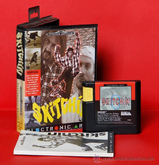 SKITCHIN VIDEOJUEGO PAL SEGA MEGADRIVE (Juguetes - Videojuegos y Consolas - Sega - MegaDrive)