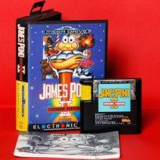 Videojuegos y Consolas: JAMES POND II CODENAME ROBOCOD VIDEOJUEGO PAL SEGA MEGADRIVE . Lote 34909998