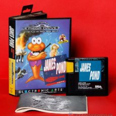 Videojuegos y Consolas: JAMES POND VIDEOJUEGO PAL SEGA MEGADRIVE. Lote 34910064
