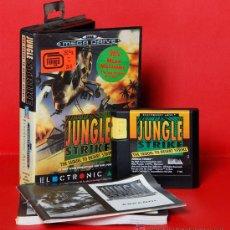 Videojuegos y Consolas: JUNGLE STRIKE VIDEOJUEGO PAL SEGA MEGADRIVE. Lote 34911946