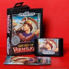 Video Games and Consoles - SWORD OF VERMILION Videojuego ntsc SEGA MEGADRIVE - 34912832