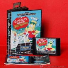 Videojuegos y Consolas: THE SIMPSONS BART VS. THE SPACE MUTANTS VIDEOJUEGO PAL SEGA MEGADRIVE. Lote 34913143