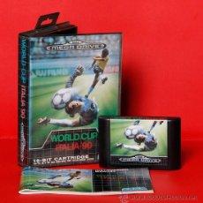 Videojuegos y Consolas: WORLD CUP ITALIA 90 VIDEOJUEGO PAL SEGA MEGADRIVE. Lote 34913971