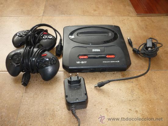 CONSOLA SEGA MEGADRIVE MEGA DRIVE II PAL SET COMPLETA CABLES DOS MANDOS (Juguetes - Videojuegos y Consolas - Sega - MegaDrive)