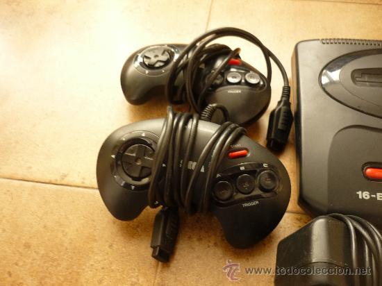Videojuegos y Consolas: Consola Sega Megadrive Mega Drive II PAL Set Completa Cables DOS MANDOS - Foto 2 - 35427859