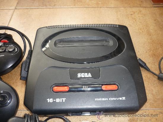 Videojuegos y Consolas: Consola Sega Megadrive Mega Drive II PAL Set Completa Cables DOS MANDOS - Foto 3 - 35427859