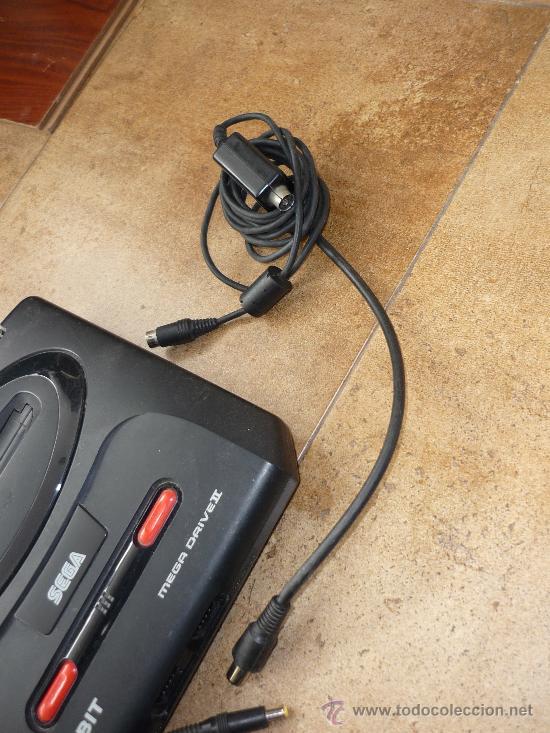 Videojuegos y Consolas: Consola Sega Megadrive Mega Drive II PAL Set Completa Cables DOS MANDOS - Foto 4 - 35427859