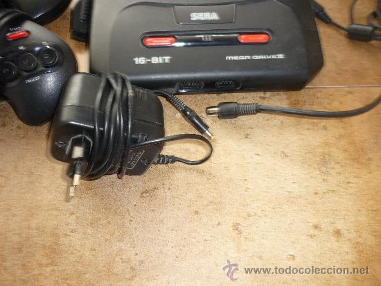 Videojuegos y Consolas: Consola Sega Megadrive Mega Drive II PAL Set Completa Cables DOS MANDOS - Foto 5 - 35427859
