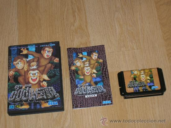 TOKI COMPLETO SEGA MEGADRIVE JP MEGA DRIVE JUJU TOKI (Juguetes - Videojuegos y Consolas - Sega - MegaDrive)