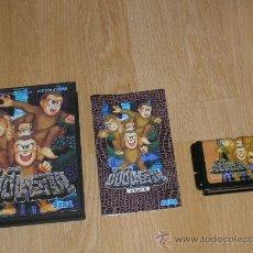 Videojuegos y Consolas: TOKI COMPLETO SEGA MEGADRIVE JP MEGA DRIVE JUJU TOKI. Lote 245584685