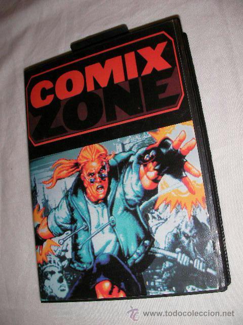 ANTIGUO JUEGO SEGA COMIX ZONE - NUEVO EN SU CAJA (Juguetes - Videojuegos y Consolas - Sega - MegaDrive)