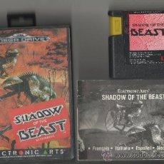 Videojuegos y Consolas: SHADOW OF THE BEAST.SEGA MEGADRIVE.COMPLETO. Lote 38772943