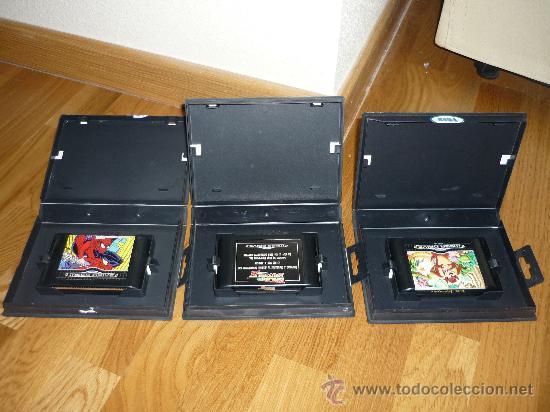 Videojuegos y Consolas: 3 JUEGOS PARA CONSOLA SEGA MEGA DRIVE TAZMANIA REGRESO AL FUTURO III SPIDERMAN - Foto 2 - 39046163