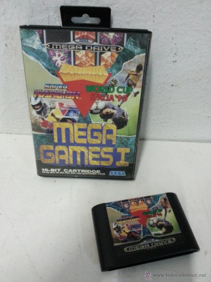 JUEGO SEGA MEGA DRIVE. MEGA GAMES I. CON CARATULA. (Juguetes - Videojuegos y Consolas - Sega - MegaDrive)