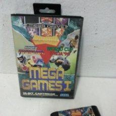 Videojuegos y Consolas: JUEGO SEGA MEGA DRIVE. MEGA GAMES I. CON CARATULA.. Lote 126213892
