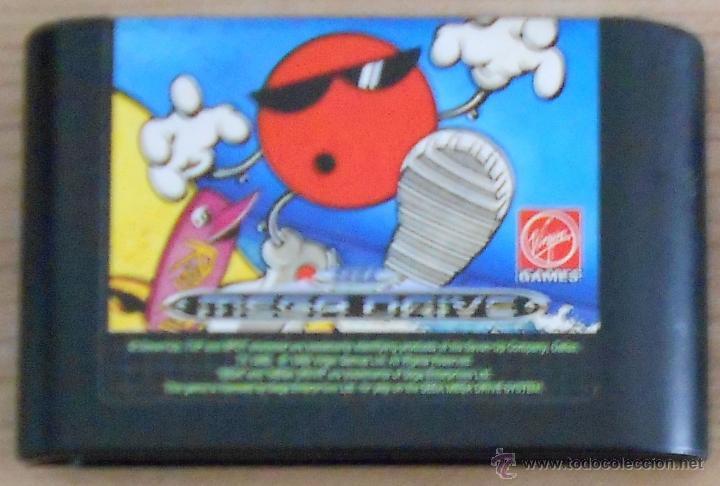 Juego Mega Drive Cool Spot Plataformas Muy Di Comprar Videojuegos