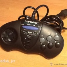 Videojuegos y Consolas: MANDO JOYSTICK PAD SAITEK MEGAPAD X MX-641M PARA CONSOLA SEGA MEGADRIVE CON TURBO Y 6 BOTONES. Lote 39962606