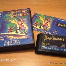 Videojuegos y Consolas: EL GUARDIAN DE LAS PALABRAS THE PAGEMASTER JUEGO PARA SEGA MEGADRIVE PAL COMPLETO VERSIÓN ESPAÑOLA. Lote 40271349