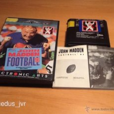 Videojuegos y Consolas: JOHN MADDEN FOOTBALL 93 PARA SEGA MEGADRIVE MEGA DRIVE PAL COMPLETO EXCELENTE ESTADO. Lote 40675211