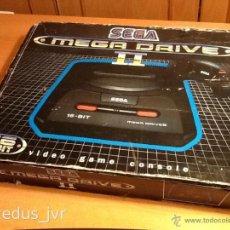 Videojuegos y Consolas: CONSOLA SEGA MEGADRIVE MEGA DRIVE MARK II PAL COMPLETA CON CAJA ORIGINAL Y 3 JUEGOS. Lote 41364499