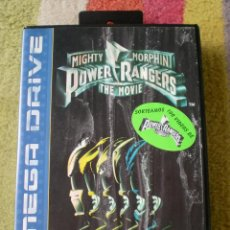 Video Games and Consoles - Juego Sega Mega Drive POWER RANGERS MIGHT MORPHIN THE MOVIE - 42200483
