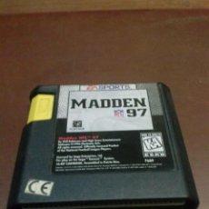 Videojuegos y Consolas: JUEGO MEGA DRIVE MADDEN 97. Lote 42310900