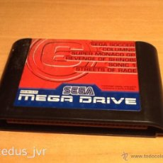 Videojuegos y Consolas: MEGAGAMES VOL. 3 MEGA GAMES 6 JUEGOS PARA SEGA MEGADRIVE MEGA DRIVE PAL STREETS OF RAGE, SHINOBI.... Lote 42997425