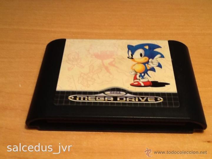 SONIC 1 JUEGO PARA SEGA MEGADRIVE MEGA DRIVE PAL (Juguetes - Videojuegos y Consolas - Sega - MegaDrive)