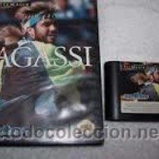 Videojuegos y Consolas: ANDRE AGASSI TENNIS - MEGA DRIVE. Lote 43094467