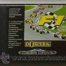 Videojuegos y Consolas: F1 - MEGA DRIVE. Lote 43094484